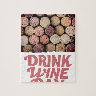 18th February - Drink Wine Day Jigsaw Puzzle