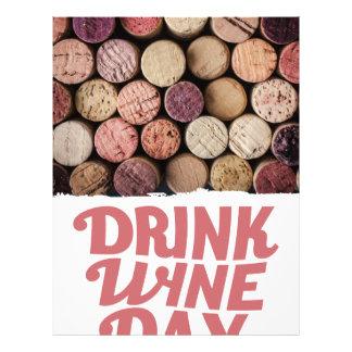 18th February - Drink Wine Day Letterhead