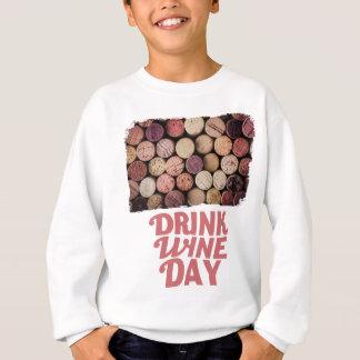 18th February - Drink Wine Day Sweatshirt