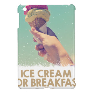 18th February - Eat Ice Cream For Breakfast Day iPad Mini Cases