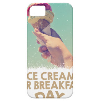 18th February - Eat Ice Cream For Breakfast Day iPhone 5 Covers