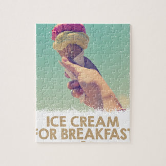 18th February - Eat Ice Cream For Breakfast Day Jigsaw Puzzle