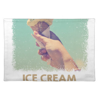 18th February - Eat Ice Cream For Breakfast Day Placemat