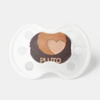 18th February - Pluto Day - Appreciation Day Baby Pacifiers