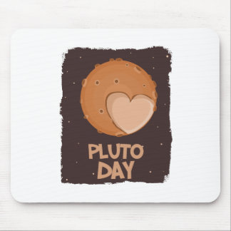 18th February - Pluto Day - Appreciation Day Mouse Pad