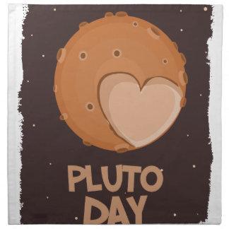 18th February - Pluto Day - Appreciation Day Napkin