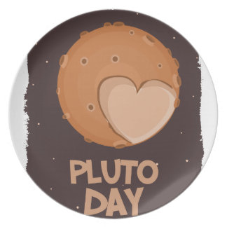 18th February - Pluto Day - Appreciation Day Plate