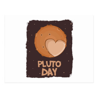 18th February - Pluto Day - Appreciation Day Postcard