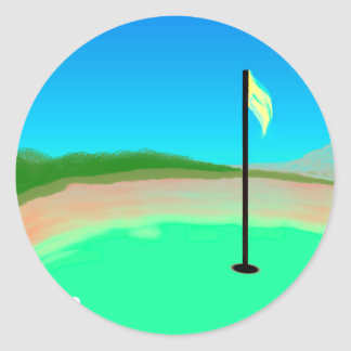 18th Hole Sticker