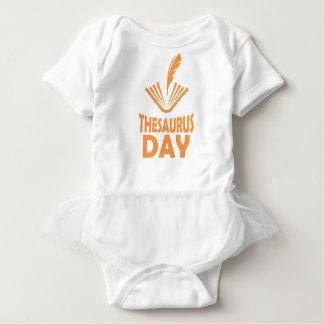 18th January - Thesaurus Day Baby Bodysuit