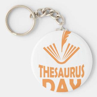 18th January - Thesaurus Day Keychain