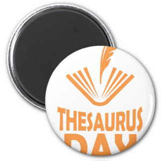 18th January - Thesaurus Day Magnet
