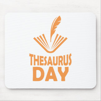 18th January - Thesaurus Day Mouse Pad