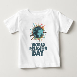 18th January - World Religion Day Baby T-Shirt