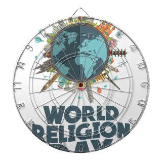 18th January - World Religion Day Dartboard