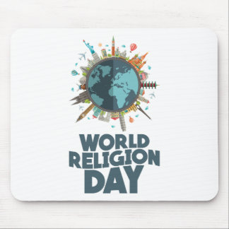 18th January - World Religion Day Mouse Pad