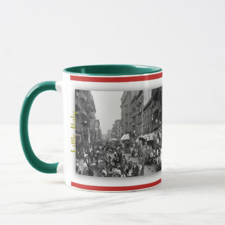 1900 - Little Italy USA in panoramic Mug