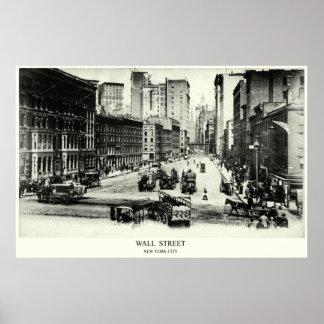 1900 Wall Street Poster