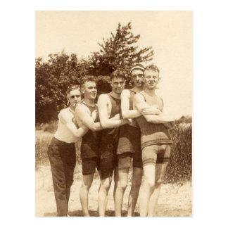 1900s Beach Boys Postcard