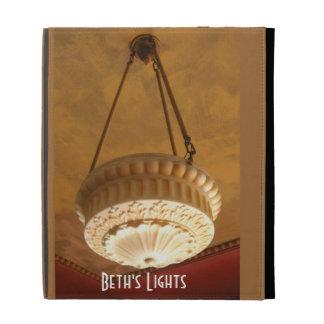 1900s Craftsman House light fixture iPad Folio Cover