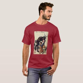1900's Gruss Vom Krampus Christmas Nightmare T-Shirt