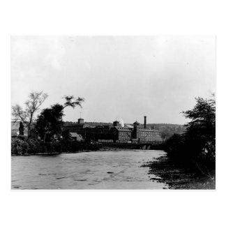 1900's Silk Mills Photo Postcard Scranton Pa.