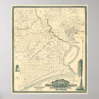 1901 beginning of TEXAS OIL Poster