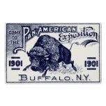 1901 Pan-American Expo Poster