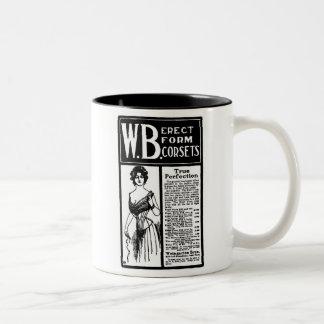 1902 Corset newspaper advertisement Mug