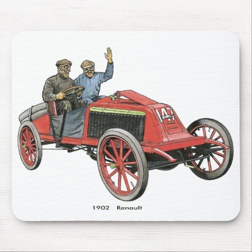 1902 Renault Race Car Mouse Pad