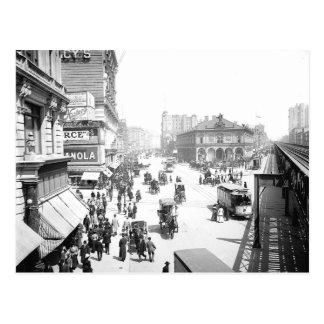 1903 Herald Square NYC Postcard
