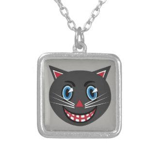 1903s Vintage Black Cat Necklace