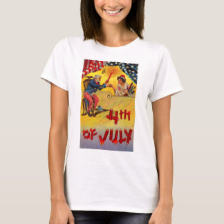 1905 4th of July with Uncle Sam T-Shirt