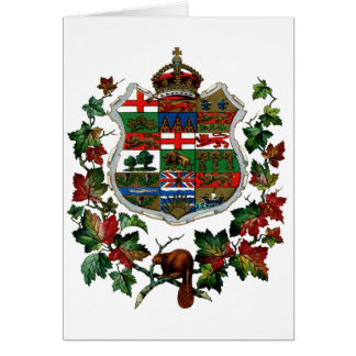 1905 Canadian Coat of Arms Card