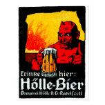 1905 German Beer Poster