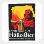 1905 German Beer Poster Sticker