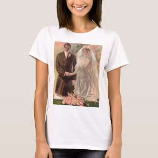 1906 Edwardian wedding T-Shirt