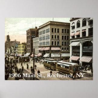 1906 Main St., Rochester, NY Poster