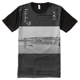 1906 - Petoskey from the Harbor All-Over-Print T-Shirt
