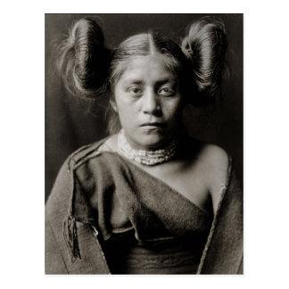 1906 Space Princess Postcard