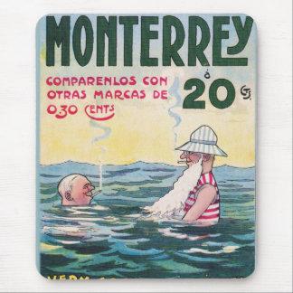 1906 Vintage Monetrrey Cigar Advertisement Mouse Pad