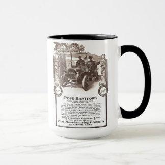 1907 Pope Hartford classic car mug