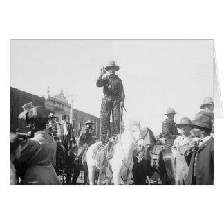 1908 Kansas Cowboy Card