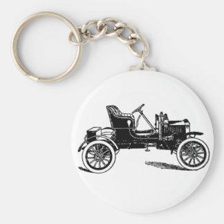1909 Maxwell auto illustration Keychain
