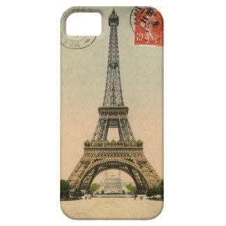 1909 Vintage Eiffel Tower Postcard Paris iPhone 5 Case