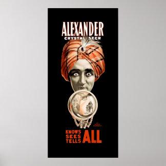 1910 ALEXANDER the SEER Poster