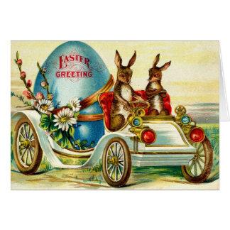1910 Easter Rabbits Greeting! Card