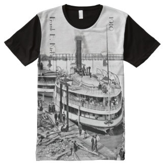 1910 - Frank R Kirby in Toledo OH All-Over-Print T-Shirt