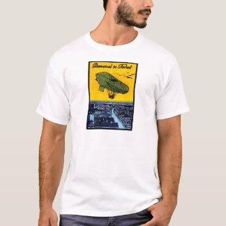 1910 Parseval Airship Poster T-Shirt