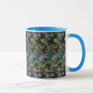 1910 Vintage Wallpaper The Cedar Tree Mug